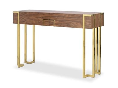 Rectangular console table with drawers KENT | Rectangular console table
