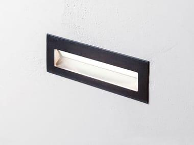Segnapasso a LED a parete in acciaio inox per esterni KENTIA