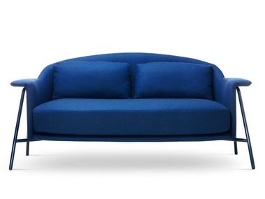 2 seater fabric sofa with removable cover KEPI | Sofa