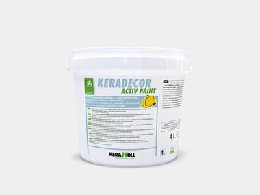 Pittura a base di resine vinil-versatiche KERADECOR ACTIV PAINT