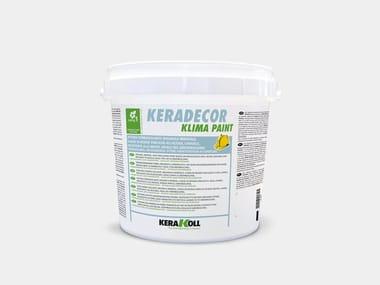 Pittura termoisolante organica KERADECOR KLIMA PAINT