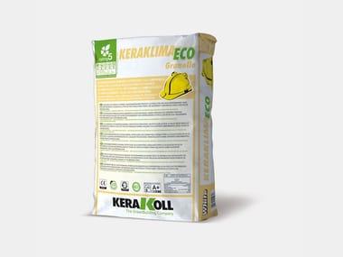Adesivo&Rasante ad alta resistenza KERAKLIMA ECO GRANELLO