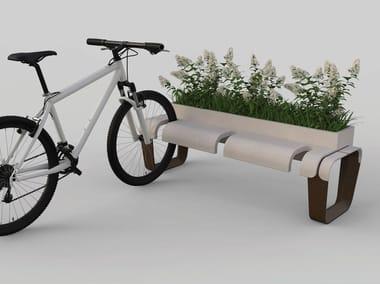Reconstructed stone Bicycle rack KEY | Bicycle rack