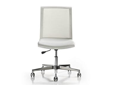 Task chair with 5-Spoke base KEY   Task chair with casters