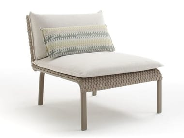 Modular garden armchair KEY WEST   Garden armchair