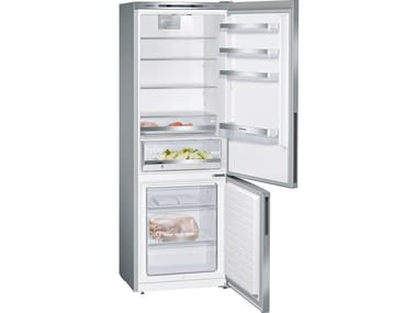 Double door freestanding stainless steel refrigerator with freezer Class A+++ KG49E2I4A | Stainless steel refrigerator