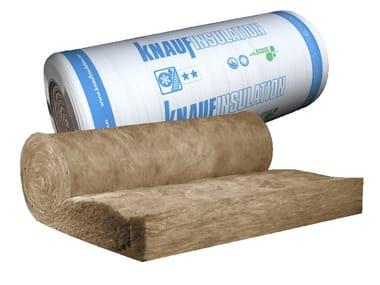 Rotolo per l'isolamento termico e acustico in lana di vetro KI FIT 040