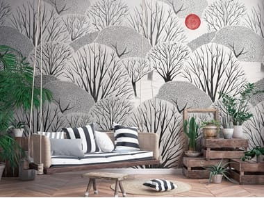Nonwoven wallpaper KI