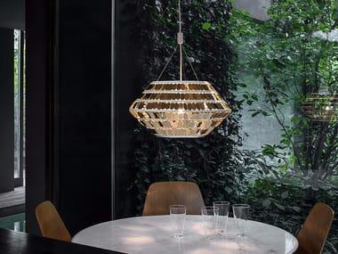 Lampada a sospensione a LED in metallo KIKA