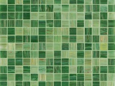 Glass mosaic KILAUEA