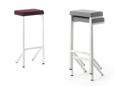 High upholstered stool KILO