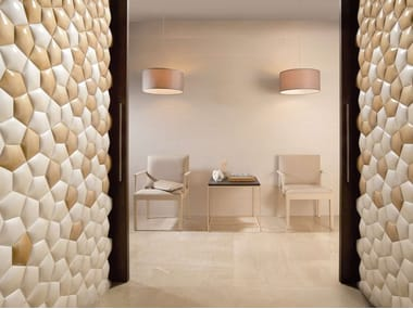 Indoor ceramic 3D Wall Tile KIN