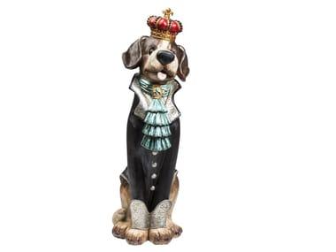 Scultura in resina KING DOG