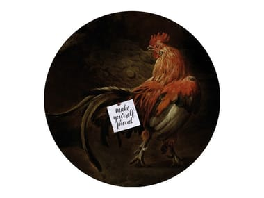 Motif wall sticker KING OF THE YARD