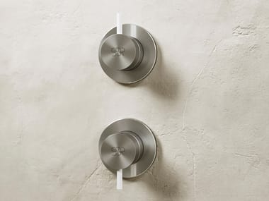 2 hole stainless steel shower mixer KING | Shower mixer