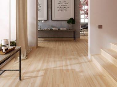 Pavimento de gres porcelánico imitación madera KIOTO NOGAL