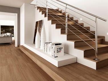 Pavimento in gres porcellanato effetto legno KIOTO ROBLE