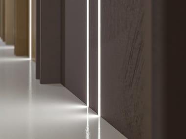 Extruded aluminium linear lighting profile KIPS