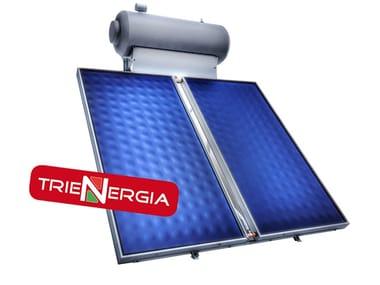 Natural circulation Solar heating system KIT CIRCOLAZIONE NATURALE TRIENERGIA ORO