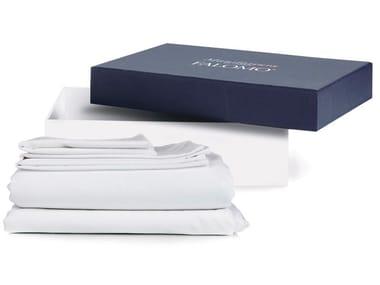 Coordinato letto a tinta unita in cotone KIT LUXURY BED