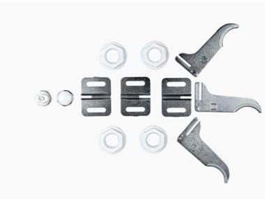 Radiatore in alluminio pressofuso KIT MONTAGGIO RADIATORI