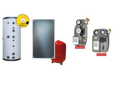Boiler for solar heating system KIT TRIENERGIA ACS MAX