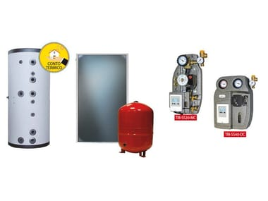 Boiler for solar heating system KIT TRIENERGIA ACS TOP
