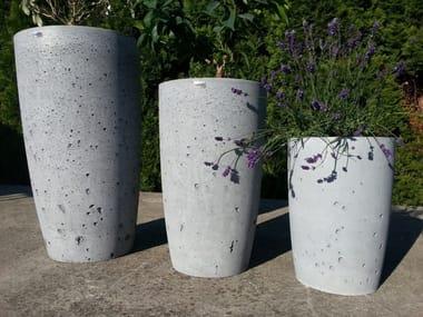 Concrete garden vase / vase KK