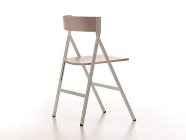 Folding wooden chair KLAPP