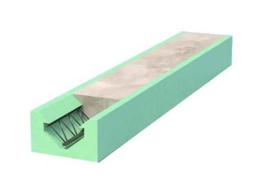 Sistema isolante portante per abbattimento ponti termici KLIMATRAVE®