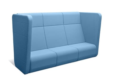 3 seater high-back sofa MEETING PORT KM3/BR-01