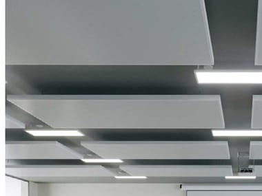 Metal acoustic ceiling clouds KNAUF ARMSTRONG METAL EASY CANOPY