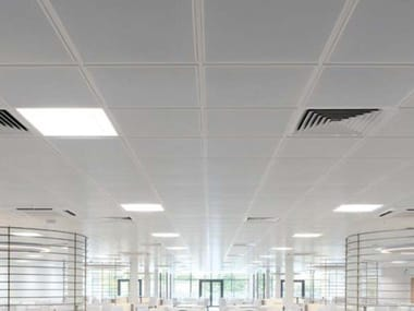 Metal ceiling panels KNAUF ARMSTRONG METAL LAY-IN