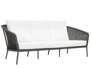 3 seater olefin rope sofa KNOT | 3 seater sofa
