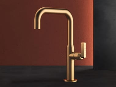 Countertop brass washbasin mixer KOÈ - KOE5