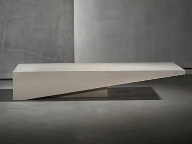 Rectangular MDF coffee table KOBE