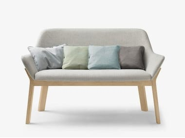 Fabric small sofa KOILA Bench