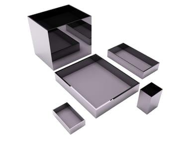 Set da scrivania in metallo KOLB | Set da scrivania