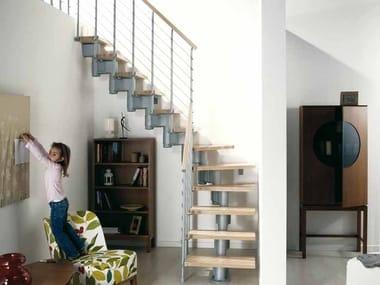 Open staircase in kit form KOMODA