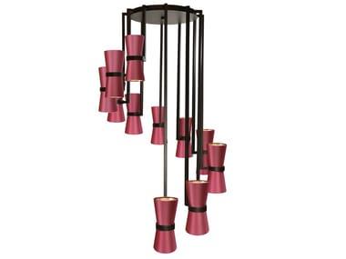 Handmade metal pendant lamp KONO | Pendant lamp