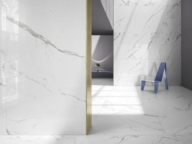 Wall/floor tiles with marble effect KONTINUA | Wall/floor tiles with marble effect