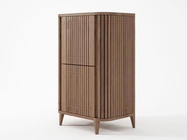 Wooden bar cabinet KOPPAR   Bar cabinet