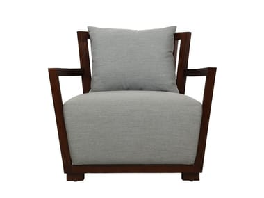 Ordinaire Wooden Armchair With Armrests KOROGATED | Armchair
