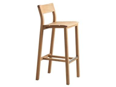 Teak garden stool KOS | Stool