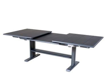 Extending aluminium dining table KOTON | Table