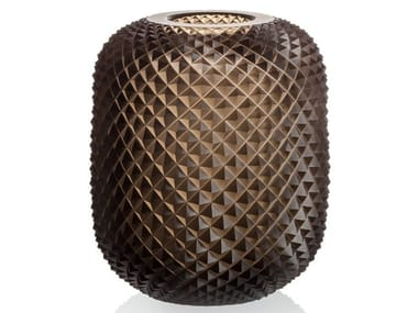 Crystal vase GOLEM | Vase