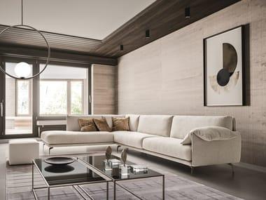 Corner sectional fabric sofa KRISBY | Corner sofa