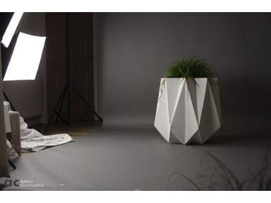 Concrete and cement-Based materials planter KRONEN 65 | Cement planter