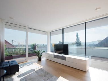 Aluminium and PVC patio door KS430
