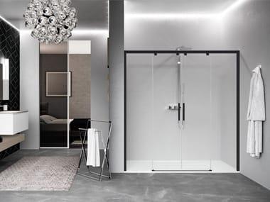 Box doccia a nicchia con porta scorrevole KUADRA 2.0 | 2AH